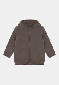 Huttelihut - JACKIE JACKET UNISEX - Fleece jacket - marmo brown - 0