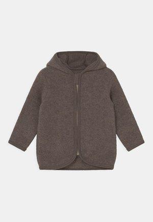 JACKIE JACKET UNISEX - Fleece jacket - marmo brown