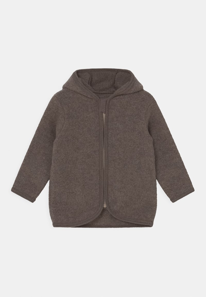 Huttelihut - JACKIE JACKET UNISEX - Fleece jacket - marmo brown