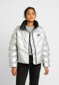 Nike Sportswear - FILL SHINE - Winter jacket - metallic silver/black - 0
