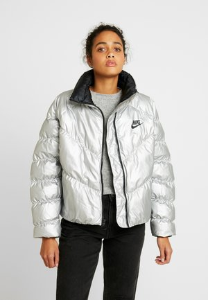 FILL SHINE - Winter jacket - metallic silver/black
