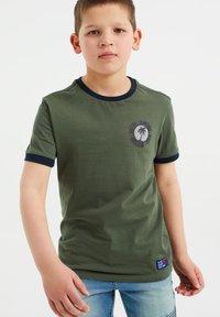 WE Fashion - T-shirt print - army green - 1