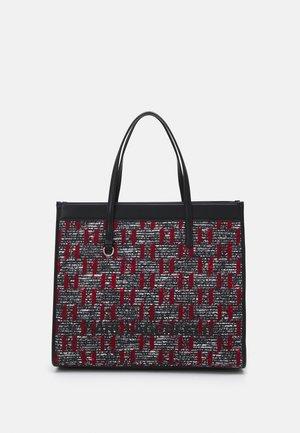 SKUARE TOTE LARGE - Tote bag - red