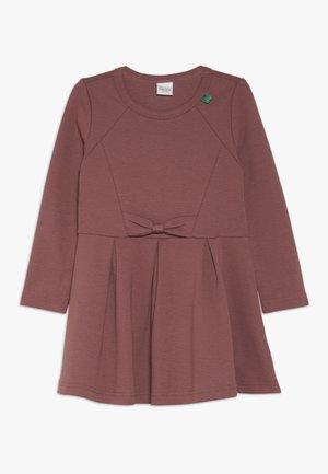 STAR BOW DRESS - Vestido ligero - dark rose