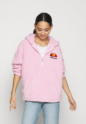 SEPPY - Jersey con capucha - pink