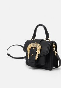 Versace Jeans Couture - MINI TOP HANDLE - Borsa a mano - nero - 4