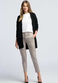 WÓLCZANKA - Spodnie materiałowe - grey - 1
