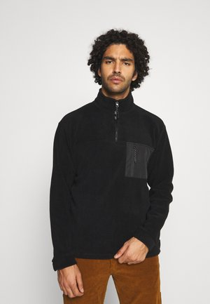 FRINCK ZIP - Fleece jumper - black