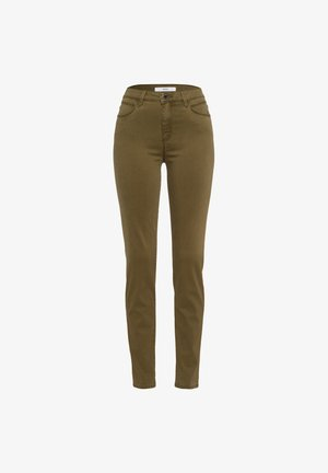 STYLE SHAKIRA - Jeans Skinny Fit - khaki