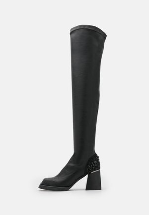 Platform boots - napoles black
