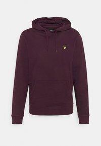 HOODIE - Sweatshirt - burgundy