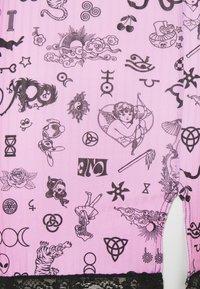 NEW girl ORDER - SYMBOLS DRESS - Day dress - pink - 2