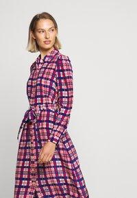 LK Bennett - EVELYN - Košilové šaty - cerulean multi - 5