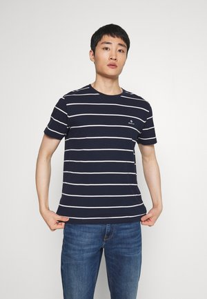 BRETON STRIPE - T-shirt con stampa - evening blue