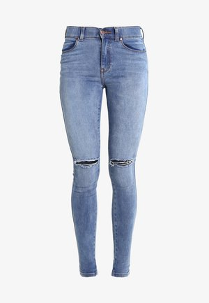 LEXY - Jeans Skinny Fit - light stone destroyed