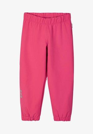 OIKOTIE - SOFTSHELLHOSE - Rain trousers - azalea pink