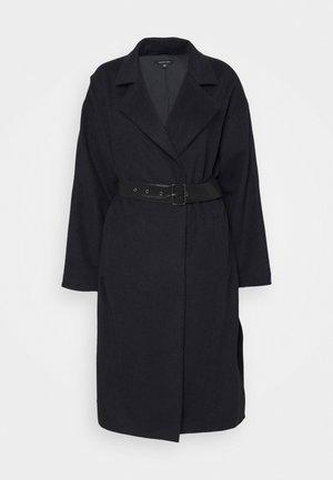 BELTED COAT - Classic coat - navy