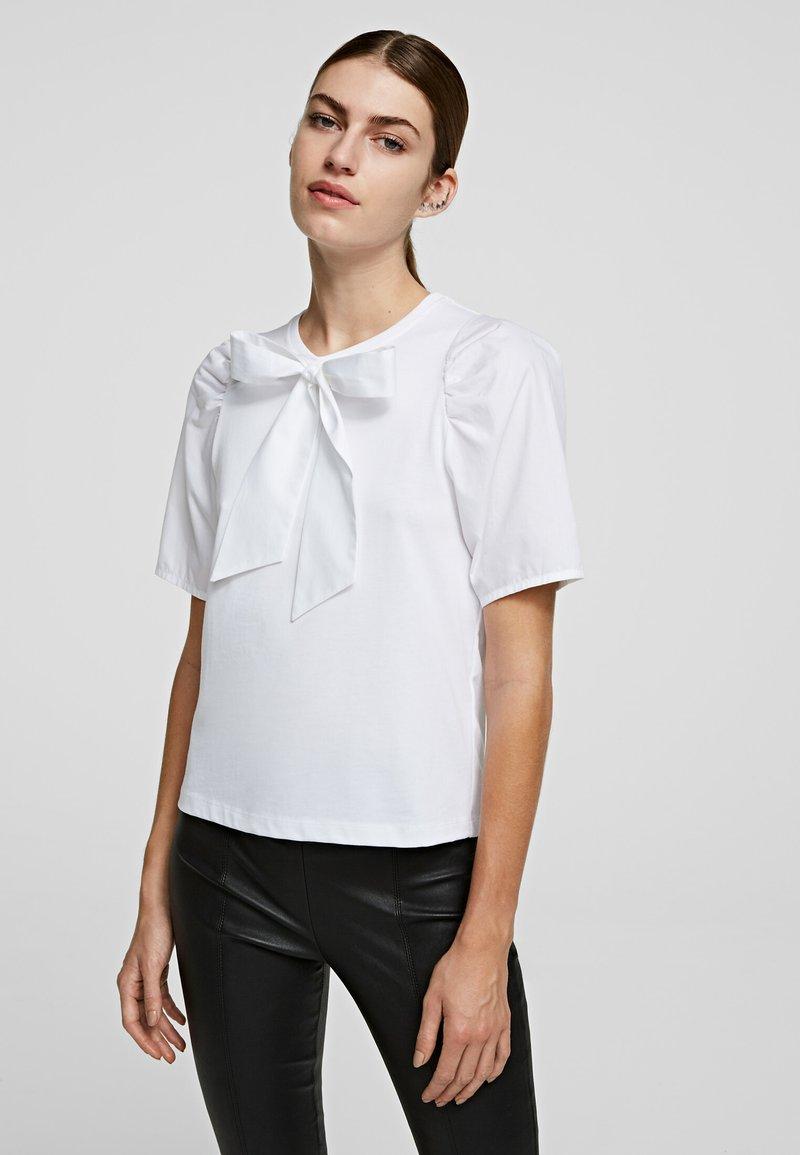 KARL LAGERFELD - Blouse - white