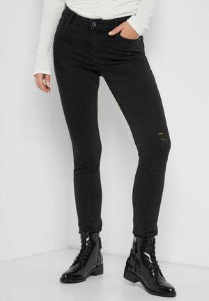 Jeans Skinny Fit - nachtschwarz