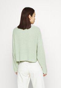 Even&Odd - CROPPED JUMPER - Pullover - light green - 2