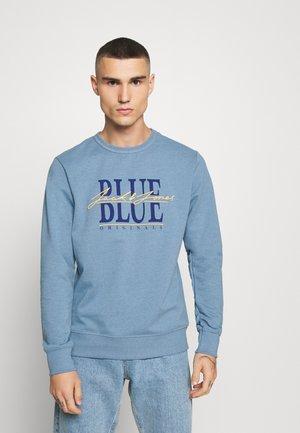 JORAMON CREW - Sweatshirt - blue heaven