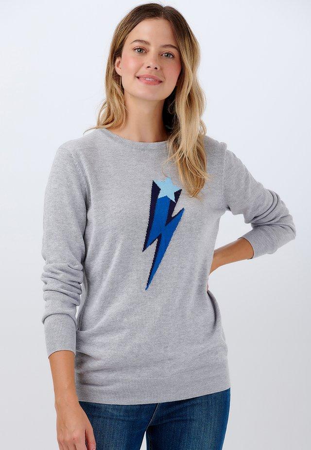 SWEATER RITA STAR LIGHTNING - Jumper - grey