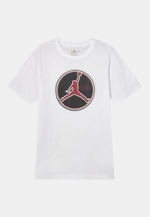 JUMPMAN B-BALL - Camiseta estampada - white