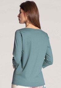 Calida - MIT 3/4-ARM - Pyjama top - eucalyptus - 2