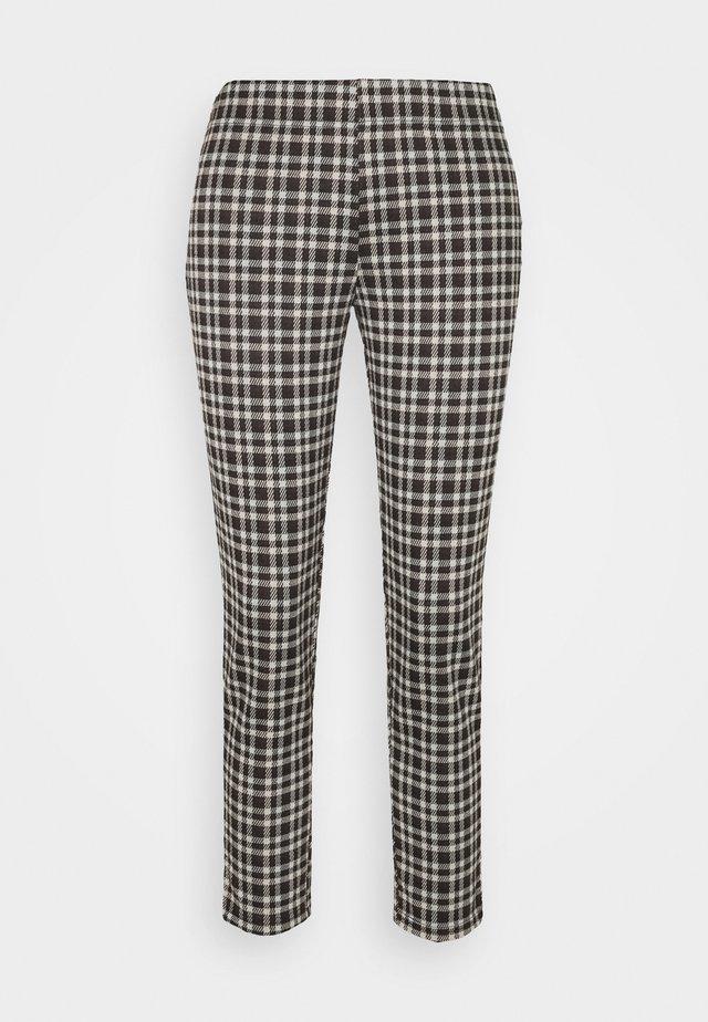 PCSILVIA PANT - Trousers - mole/jadeite