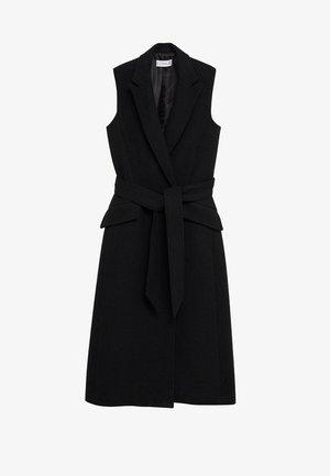 CARLO-A - Waistcoat - schwarz