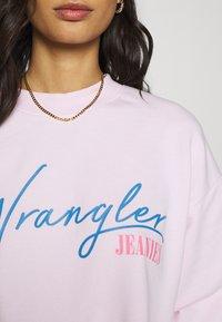 Wrangler - HIGH RETRO - Sweatshirt - cradle pink - 5