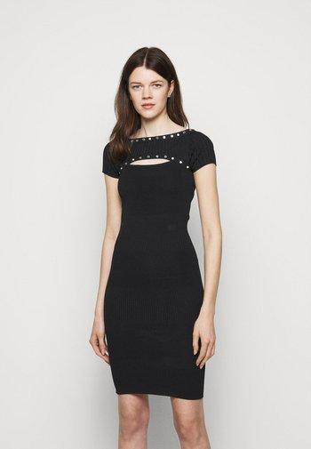 ABITO DRESS - Pletené šaty - nero