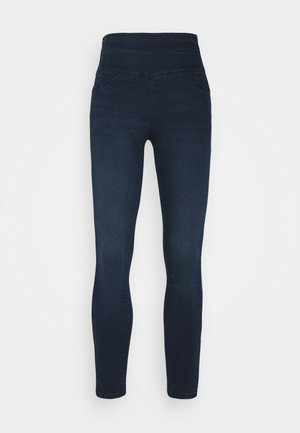 PANTALONI TROUSERS - Skinny džíny - washed dark blue