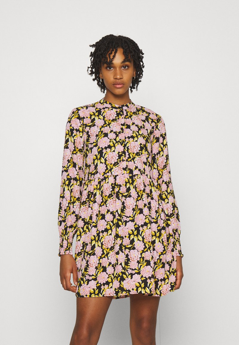 JDY - JDYCARMEN SHORT DRESS - Košilové šaty - black
