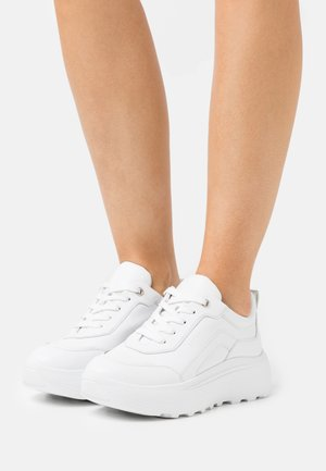 NEON AVE - Sneakers laag - white