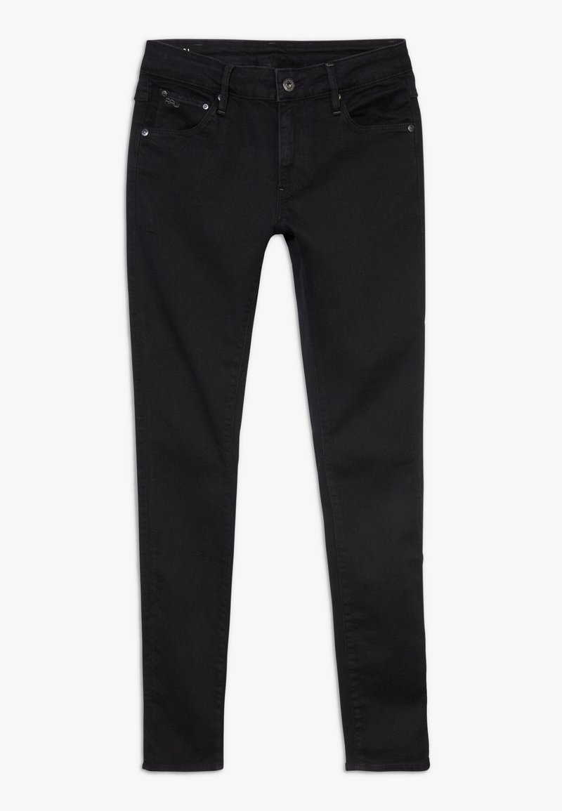 G-Star - SUPER SKINNY - Jeans Skinny Fit - black