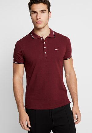 T-RANDY - Polo shirt - burgundy red