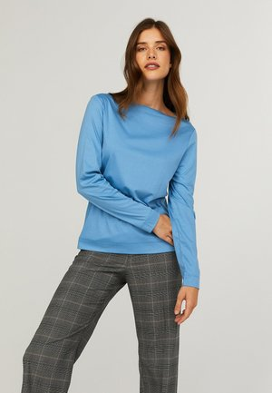 EBBA  - Long sleeved top - riviera blue