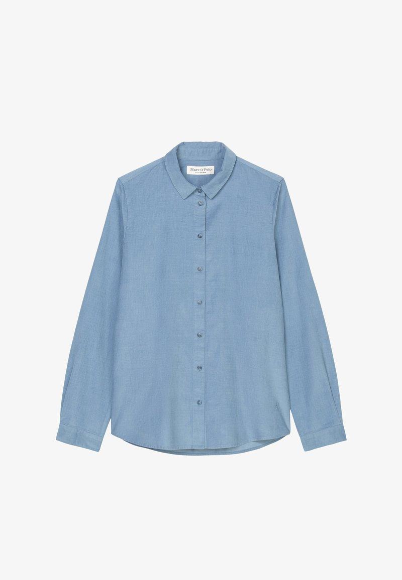 Marc O'Polo - SAMTIGER CORD-QUALITÄT - Button-down blouse - fall sky