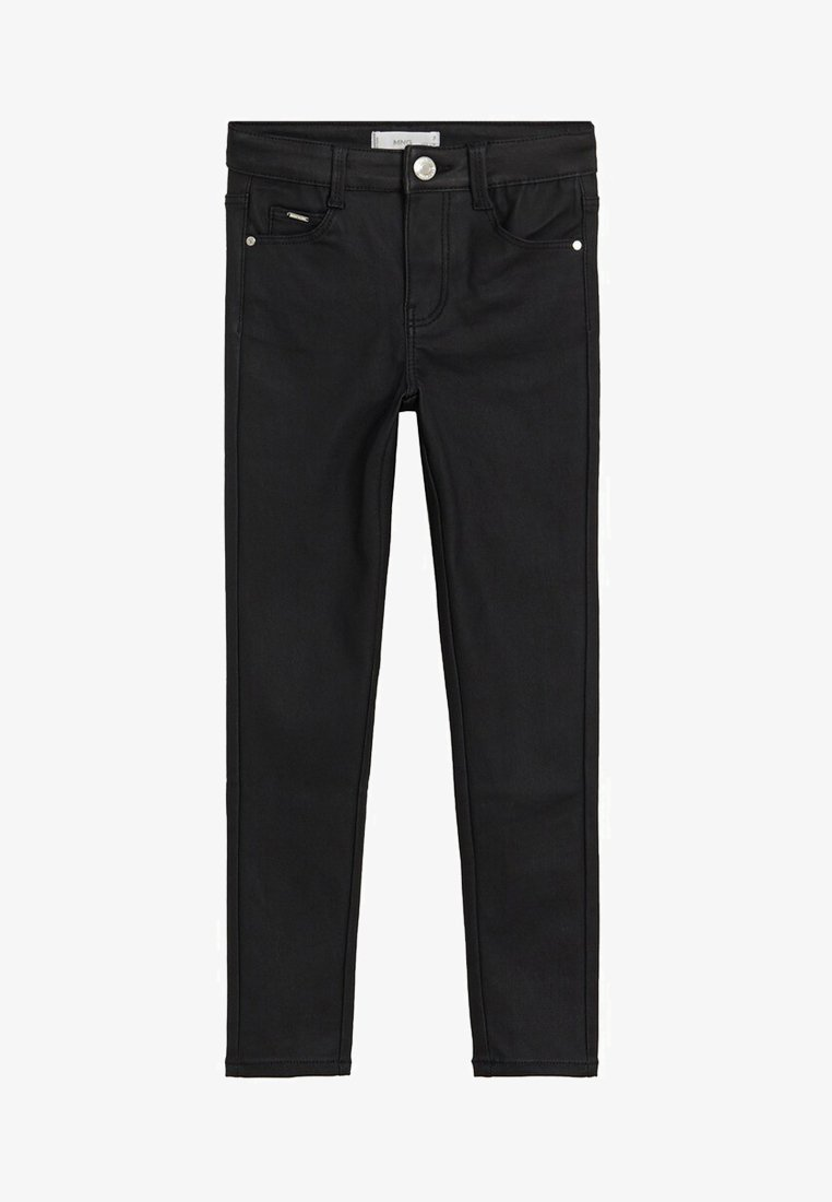 Mango - COATED - Jeans Skinny Fit - black denim