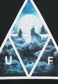 HUF - LUPUS NOCTEM TEE - Print T-shirt - black - 2