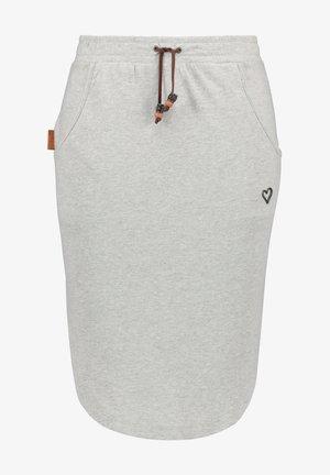 HOLLYAK  - A-line skirt - grey