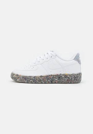 FORCE 1 UNISEX - Trainers - white/metallic silver