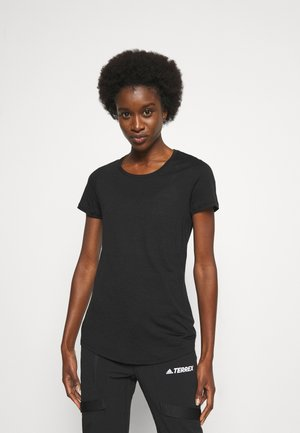 SPHERE TEE - Basic T-shirt - black