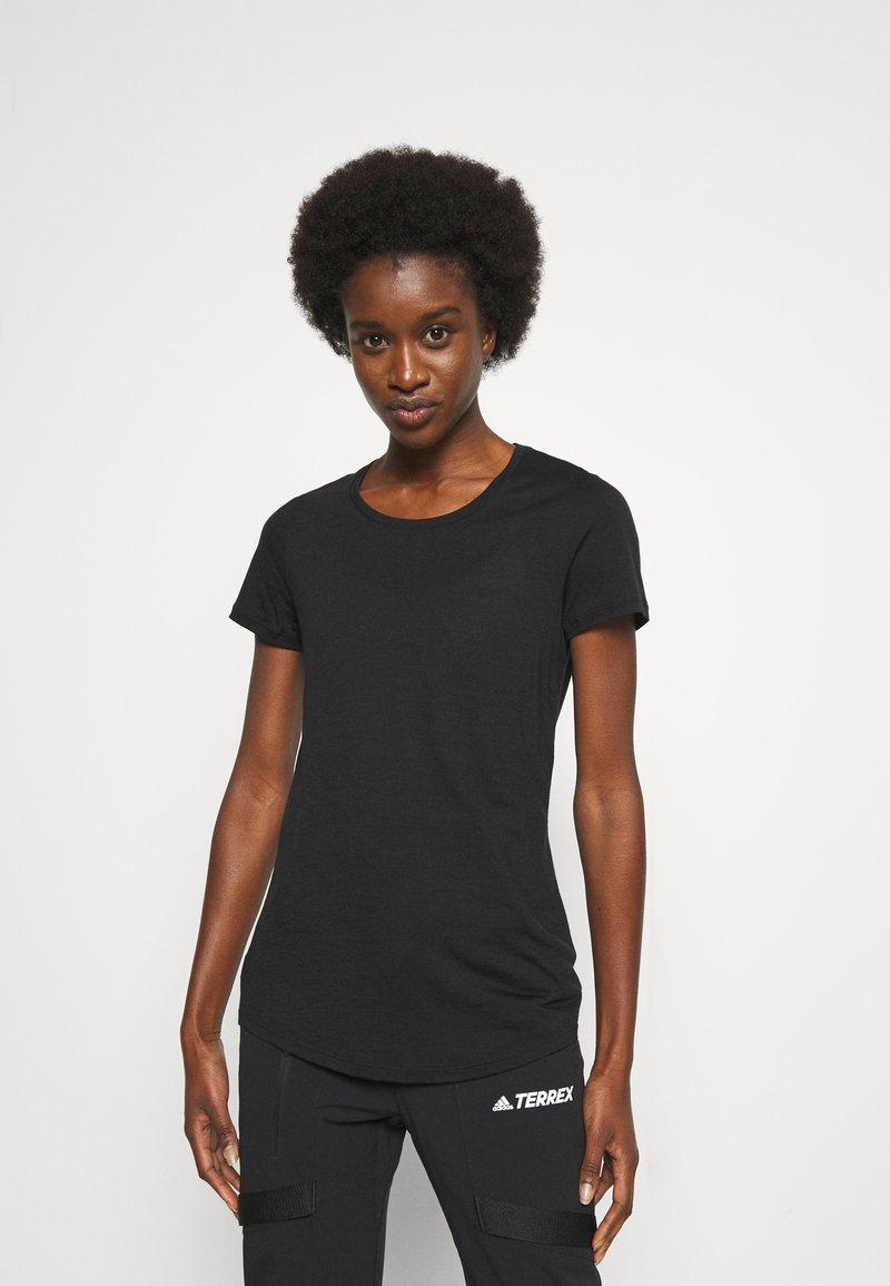 Icebreaker - SPHERE TEE - Basic T-shirt - black