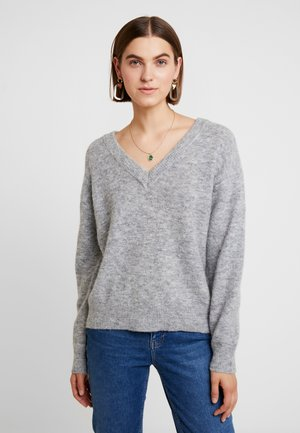 JUMPER TEKLA - Jumper - grey melange