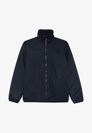 REVERSIBLE PILE JACKET - Outdoor jacket - navy