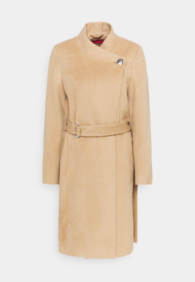 HUGO - MIVALA - Classic coat - light pastel brown