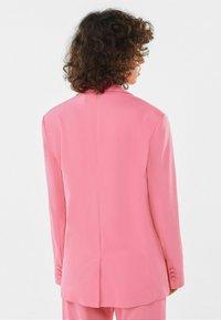 Bershka - Manteau court - pink - 2