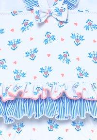 Sunuva - ANCHOR FRILL SWIMSUIT - Swimsuit - white - 3